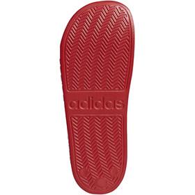 adidas Adilette Shower Slides Men, scarlet/footwear white/scarlet